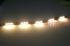 30CM RED/BLUE/GREEN/YELLOW/WHITE/RGB FLASH 5050 SMD 12 LED LIGHT STRIP 12V