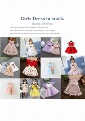 Girl Dress in stock