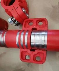 礦用綜采遠距離供液系統管路特高壓管路