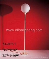 Castore Opal glass floor lamp