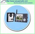 """Wireless 3.5"""" video door phone"""