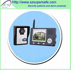 "Wireless 3.5"" video door phone"