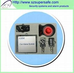 GSM/GPRS Car Alarm System