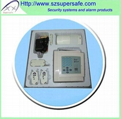 Wireless home alarm syst