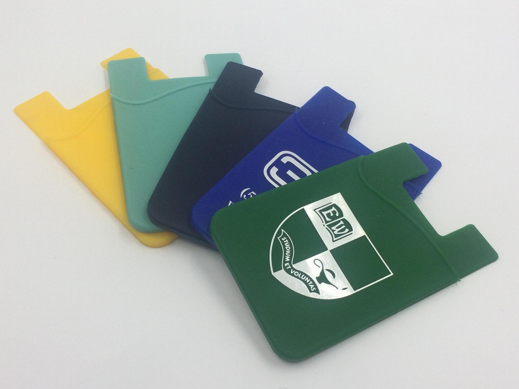 购物卡套硅胶卡袋手机卡套公交卡套手机佩饰 4