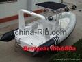 New Rib680A boat