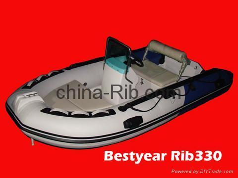 New Rib330a boat 1