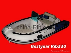New Rib330a boat