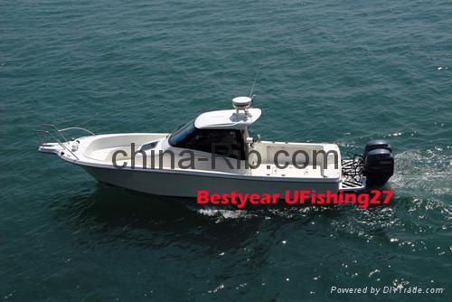 UFishing 27 boat 1