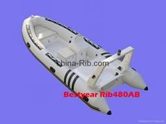 New RIB480AB boat side console