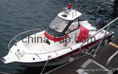 YFishing21 hardtop boat 1