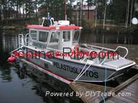 Aluminum boat Landing Craft 650 1