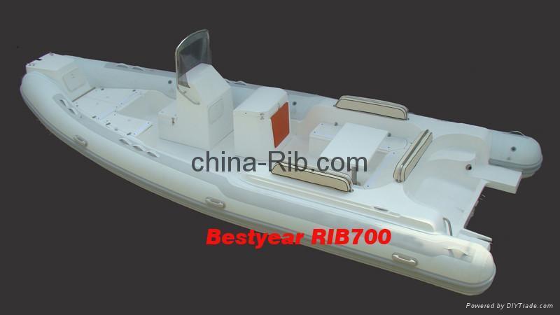 2010 model RIB700 boat 1