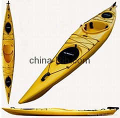 plastic kayak