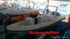 Rib960 boat