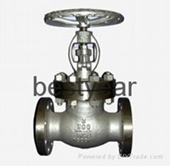 ASME B16.34/BS 1873 /API cast steel globe valve class 300