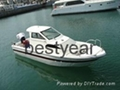 UF28 inboard fishing boat 2
