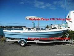 new fishing panga22D boat