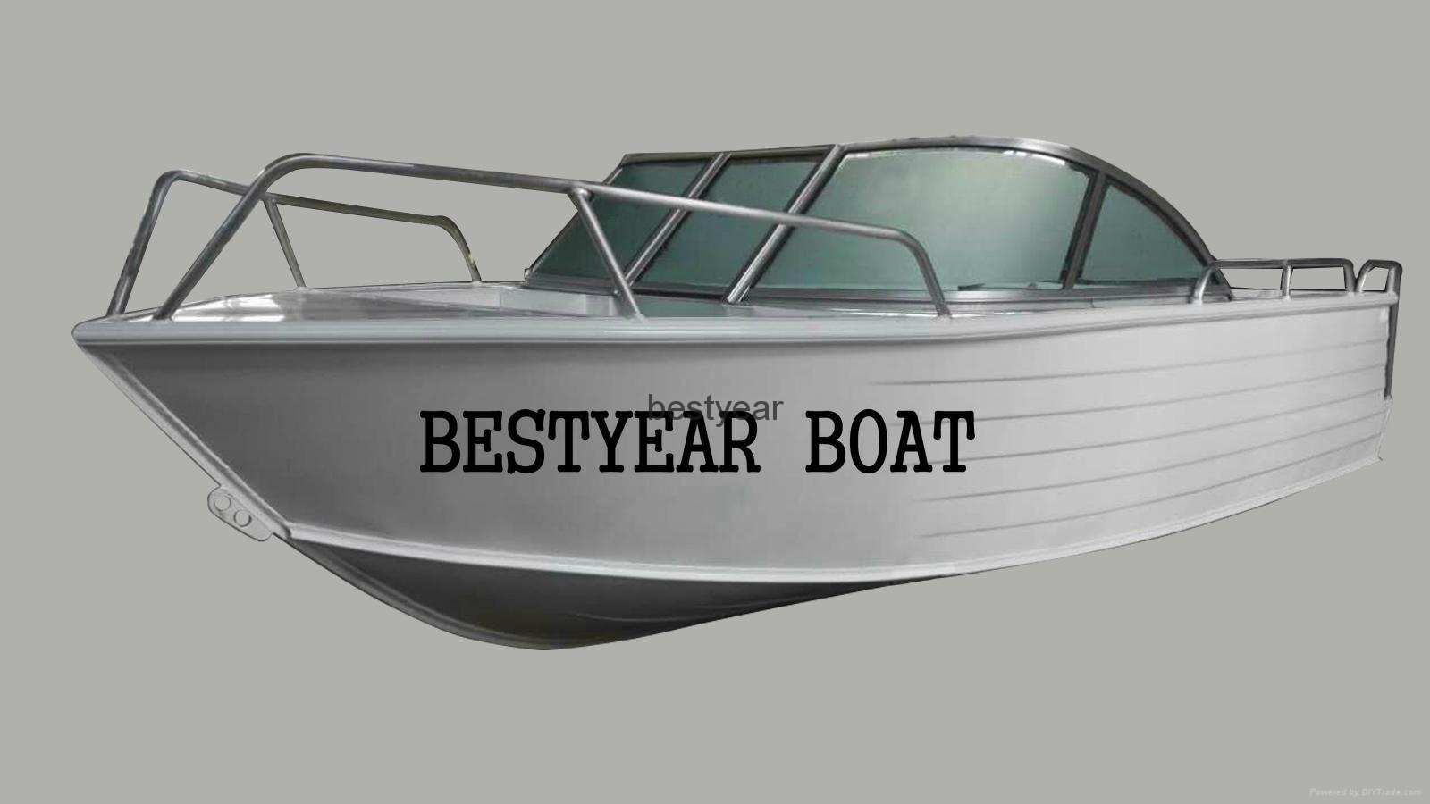 Aluminum fishing boat 500 china manufacturer for Sport fishing boat manufacturers