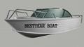 aluminum fishing boat 500