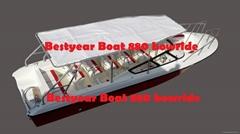 Passenger 880 open boat passenger boat