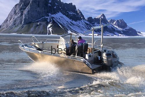 Aluminum alloy sport boat AL710 AL810 1