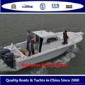 2015 model Fishing boat UF27FL and UF30FL cabin outboard fishing boat