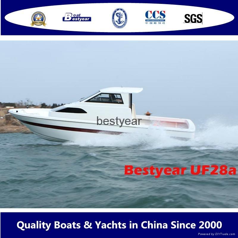 UF28 inboard fishing boat 1