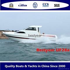 UF28 inboard fishing boa