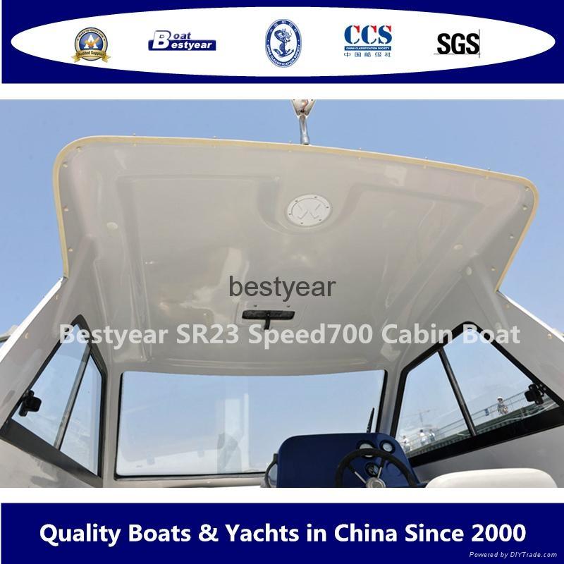 Fiberglass SRV23 speed 700 cabin boat 3