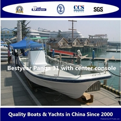 Commercial fishing boat Panga31with center console