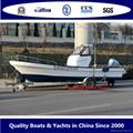 2015 Panga23HA boat fishing hardtop