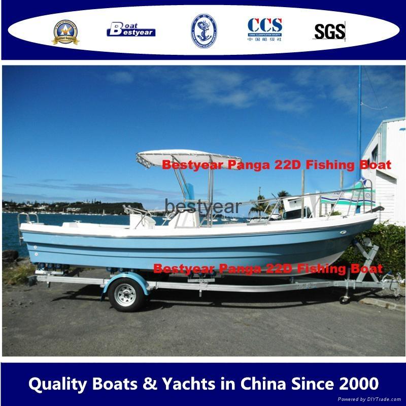 Panga 22D fishing boat