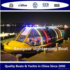 Bestyear passenger boat sightseeing boat water bus (Hot Product - 1*)