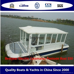 Catamaran e550 boat house boat (Hot Product - 1*)
