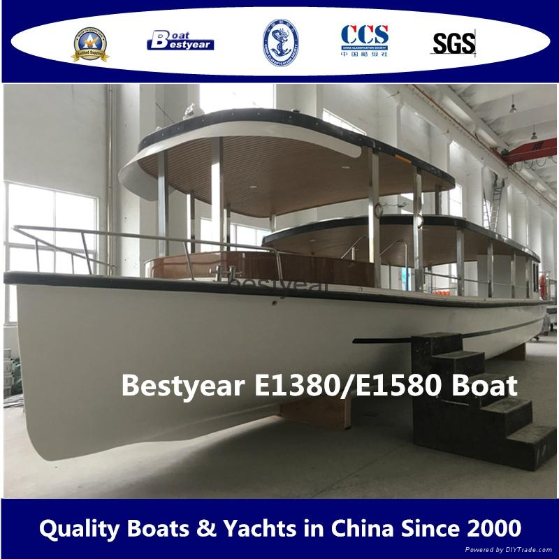 Bestyear sightseeing electrical ferry 1380  4