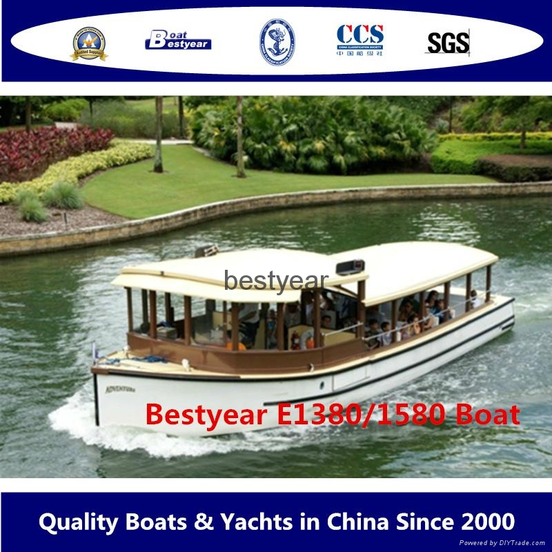 Bestyear sightseeing electrical ferry 1380  1