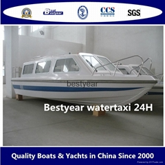 24ft watertaxi for 12 passengers