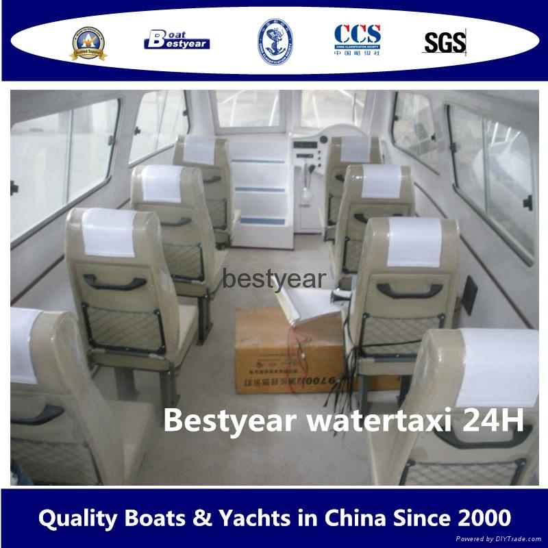24ft watertaxi for 12 passengers 2