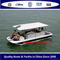 Electric boat solar boat