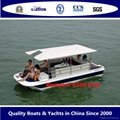 Electric boat solar boat