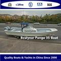 Large panga 35 fishing boat 3