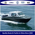 Speed550A cabin hardtop boat
