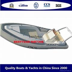 Rib730B boat