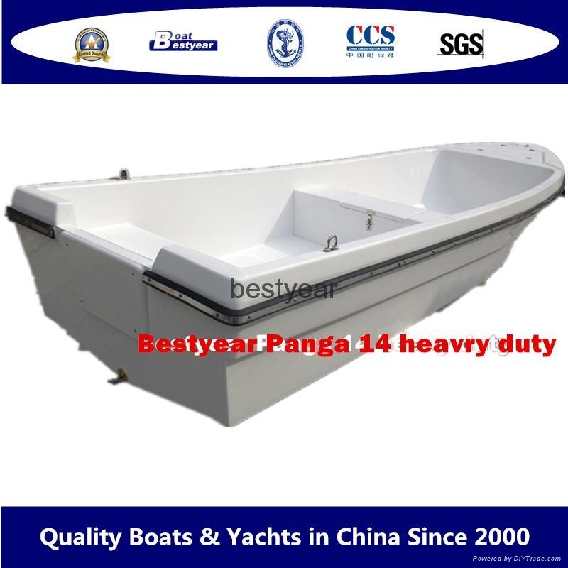 Panga 14H heady duty fishing boat 1