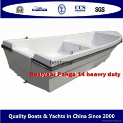Panga 14H heady duty fishing boat