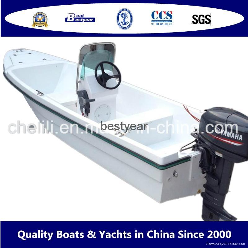 Panga 14H heady duty fishing boat 2