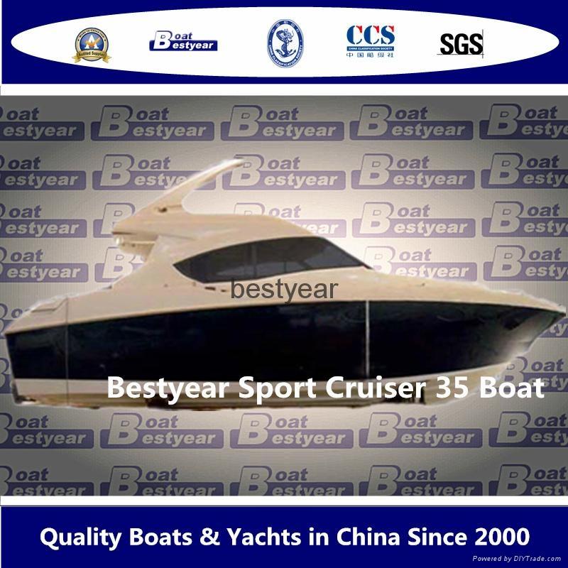 Luxury 35ft yacht 1