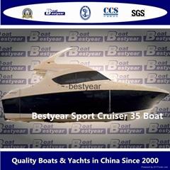 Luxury 35ft yacht