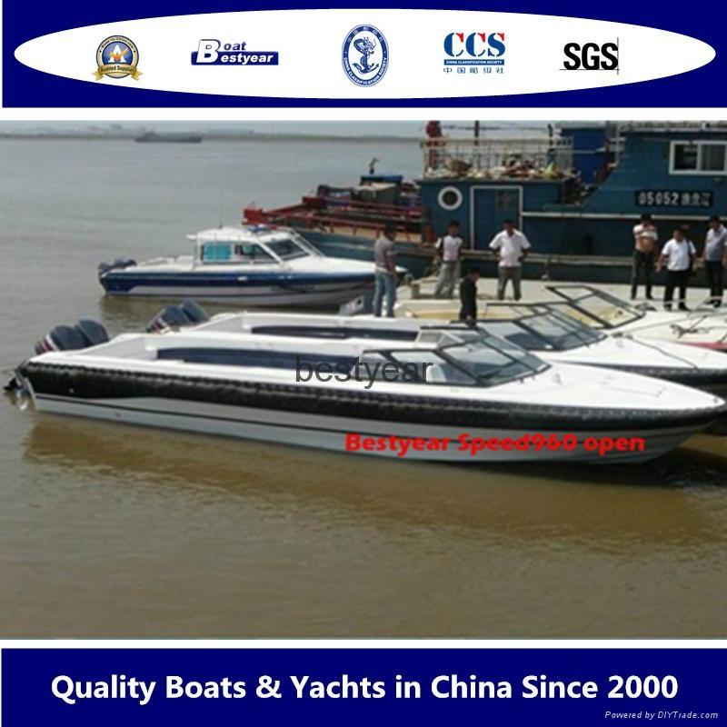 Speed960 open passenger boat